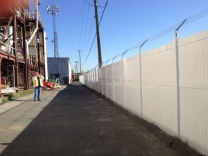 8 Foot Commercial Fence